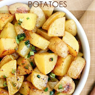 Browned Butter Roasted Potatoes.