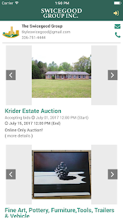 Swicegood Auctions- screenshot thumbnail