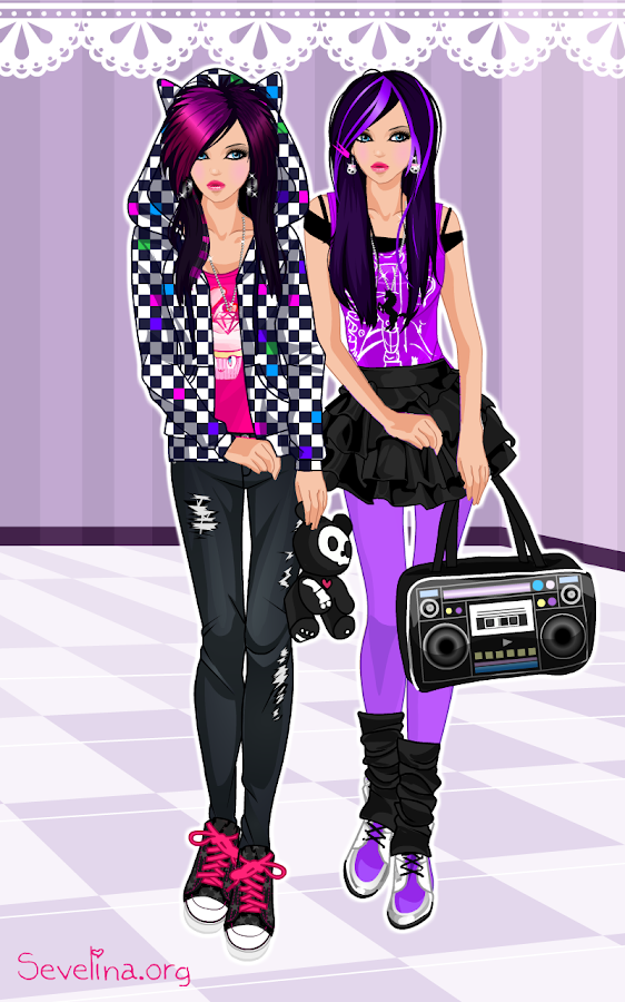 Emo Dress Up Game Android Apps On Google Play