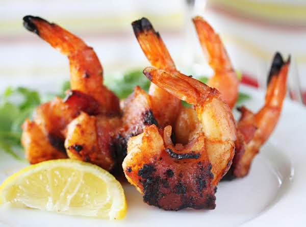 Bbq Bacon-wrapped Shrimp Recipe