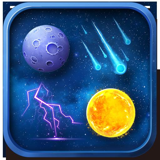 精緻科幻風格高解析度高品質天氣圖標包 天氣 App LOGO-APP試玩