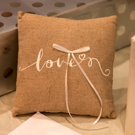 Ring Pillow by Greg Reeves - Wedding Other ( wedding photography, weddings, wedding, ring puillow )