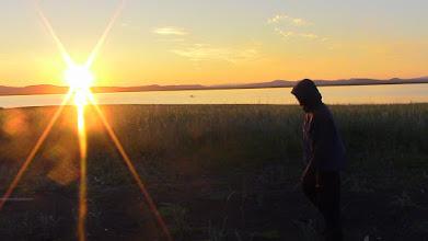 Photo: Sunset Kivalina, Alaska