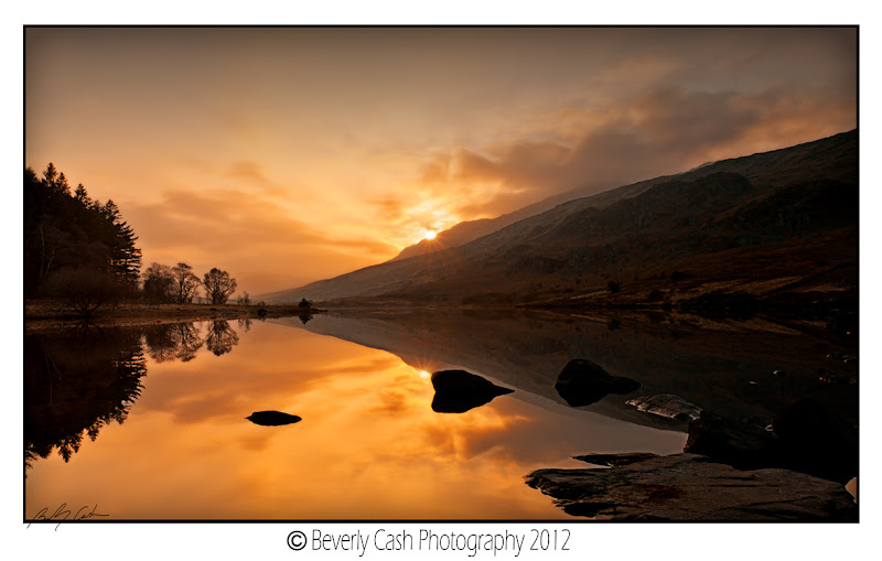 Photo: I could really use another sunset like this one. Near Capel Curig