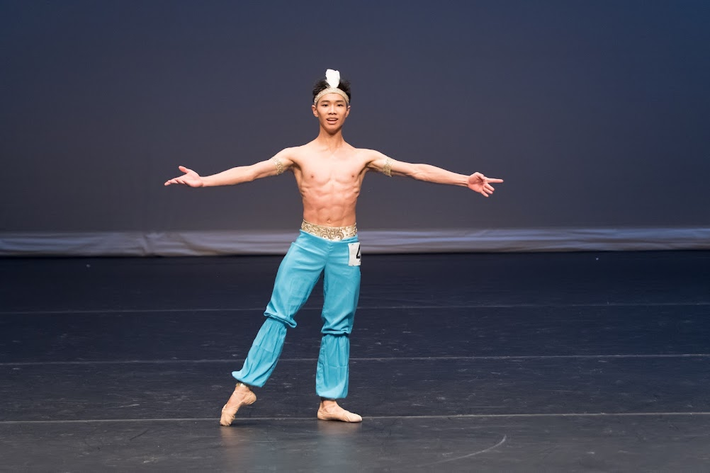 Genée 2018 medallists Jordan Yeuk Hay Chan - ballet competition