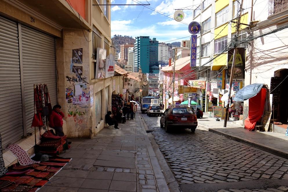 Uliczki La Paz