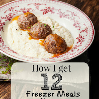 How I Got 12 Freezer Meals from 8 Lbs. of Ground Turkey