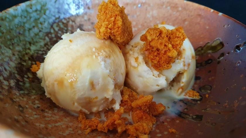 Helado de Honeycomb (Caramelo de Miel )