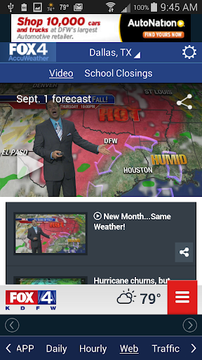 FOX 4 KDFW WAPP screenshot