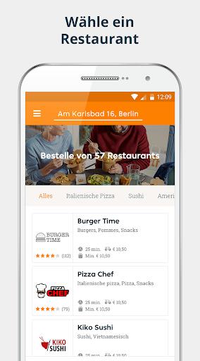 pizza.de | Food Delivery 6.12.2 screenshots 1