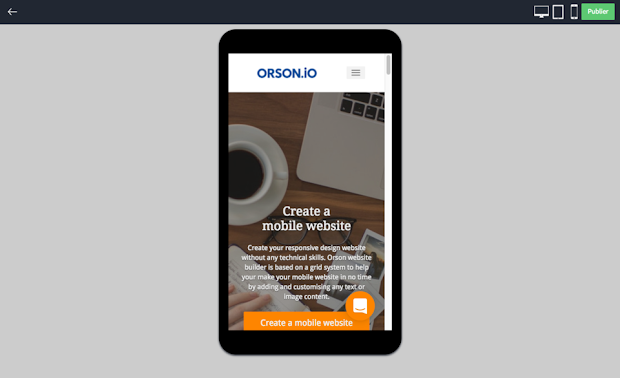 create mobile website