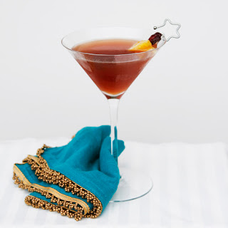 Cranberry Citrus Martini.