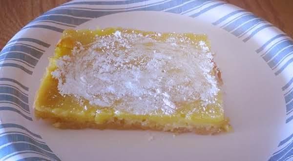 Tart Lemon Bars