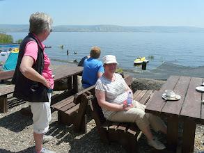 Photo: Aan het Meer van Galilea