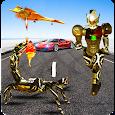 Scorpion Robot Transformation: Flying Car Wars icon