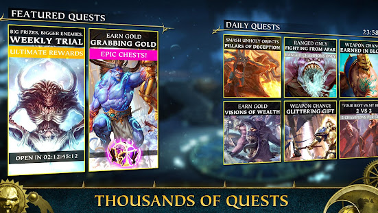 Mod Game Warhammer Quest: Silver Tower for Android