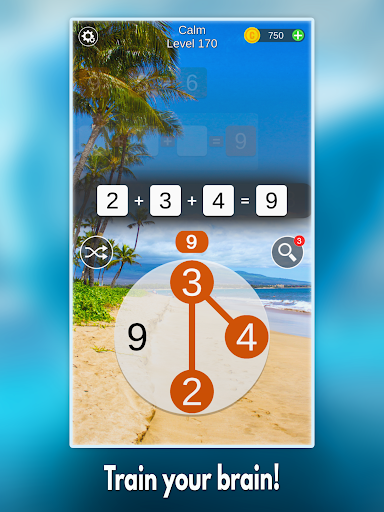 Mathscapes: Best Math Puzzle, Number Problems Game android2mod screenshots 6
