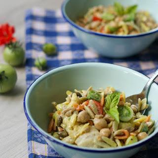 Rainbow Orzo Pasta Salad