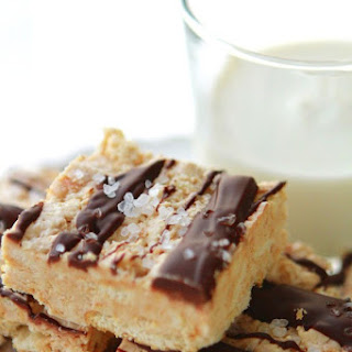 Salted Chocolate & Ritz Nougat No-Bake Bars