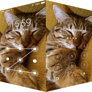 Sleeping Cat AppLock Gratis
