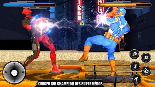 rue Roi combattant:super héros-Street King Fighter  captures d'écran 2