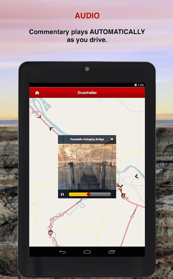 Drumheller GyPSy Driving Tour- screenshot