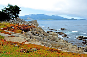 Photo: 76. This is Pascadero Point, right before you head into Pebble Beach. You can see some of Stillwater Cove in the distance, to the left.