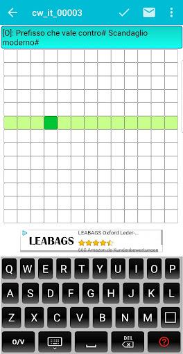 Italian Crossword Puzzles - Advanced Level 7.5 3