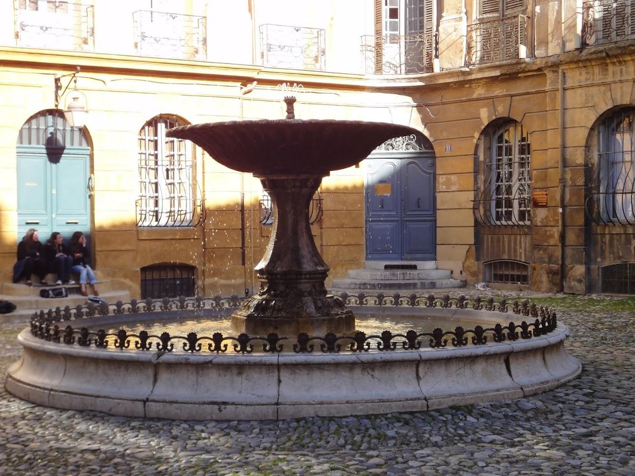 Fontaine Albertas à Aix-en-Provence