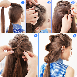 Cute Girls Hairstyles 2017:New Hairstyle for Girl - Android Apps ...