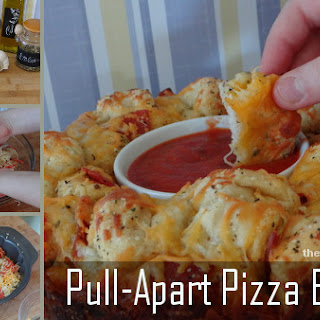Pull-Apart Pizza Bread (Including Healthier and Gluten-Free Variations)