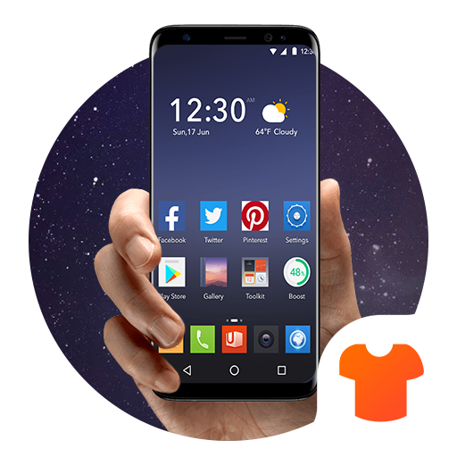 System Theme for Android Icon