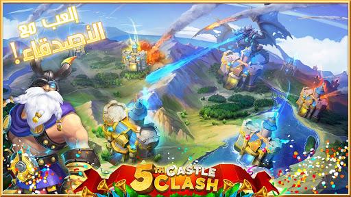 Castle Clash: u0641u0631u064au0642 u0627u0644u0634u062cu0639u0627u0646 1.2.81 Screenshots 5