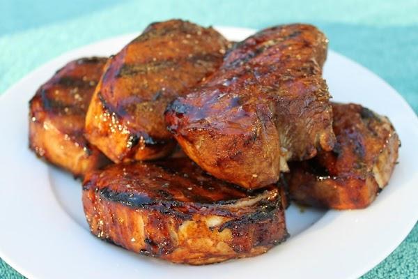 Asian Inspired Pork Chops (sallye) Recipe