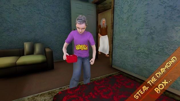 Neighbor's Scary Creepy Granny House