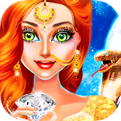 Snake Girl Salon - Naagin Game