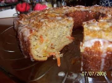 ''Cin's Super-Moist Zucchini Cake''