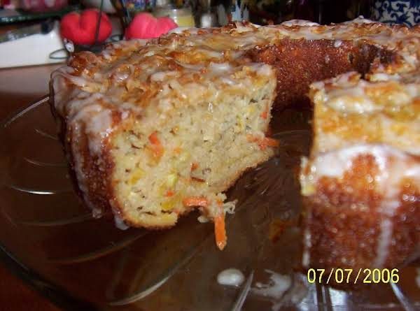 Cin's Carrot-zucchini Cake (sometimes I Add Shredded Carrots In This Recipe...this Is A Pic On When I Made It In 2006) Pix By: Cinstraw
