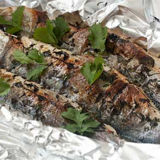 Baked Sea Bass with Gremolata