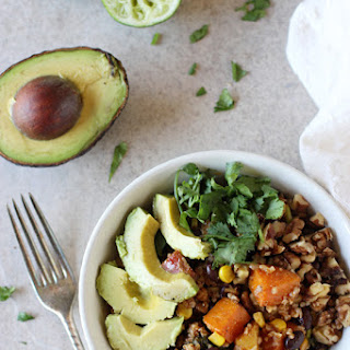Mexican Nourish Bowls with Lime Dressing