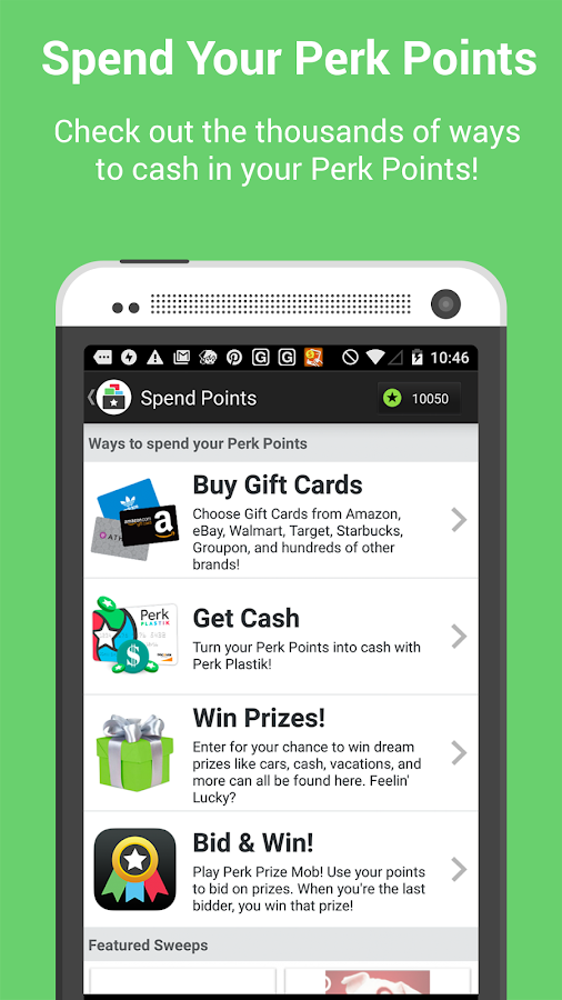 Perk Wallet- screenshot