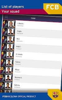 FC Barcelona Official App screenshot 09