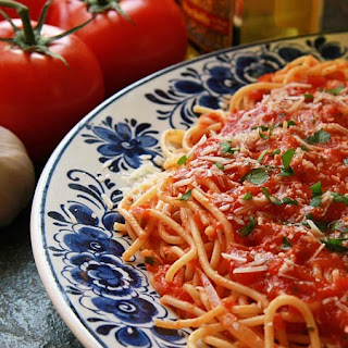 Fried Spaghetti With Tomato Sauce Recipes