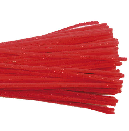 Piprensare 30cm röd 50/fp