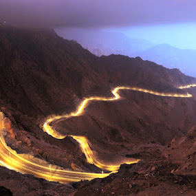 Road Trip by Dj Hostalero - Landscapes Mountains & Hills ( mountain, taif, djmaculet, road )