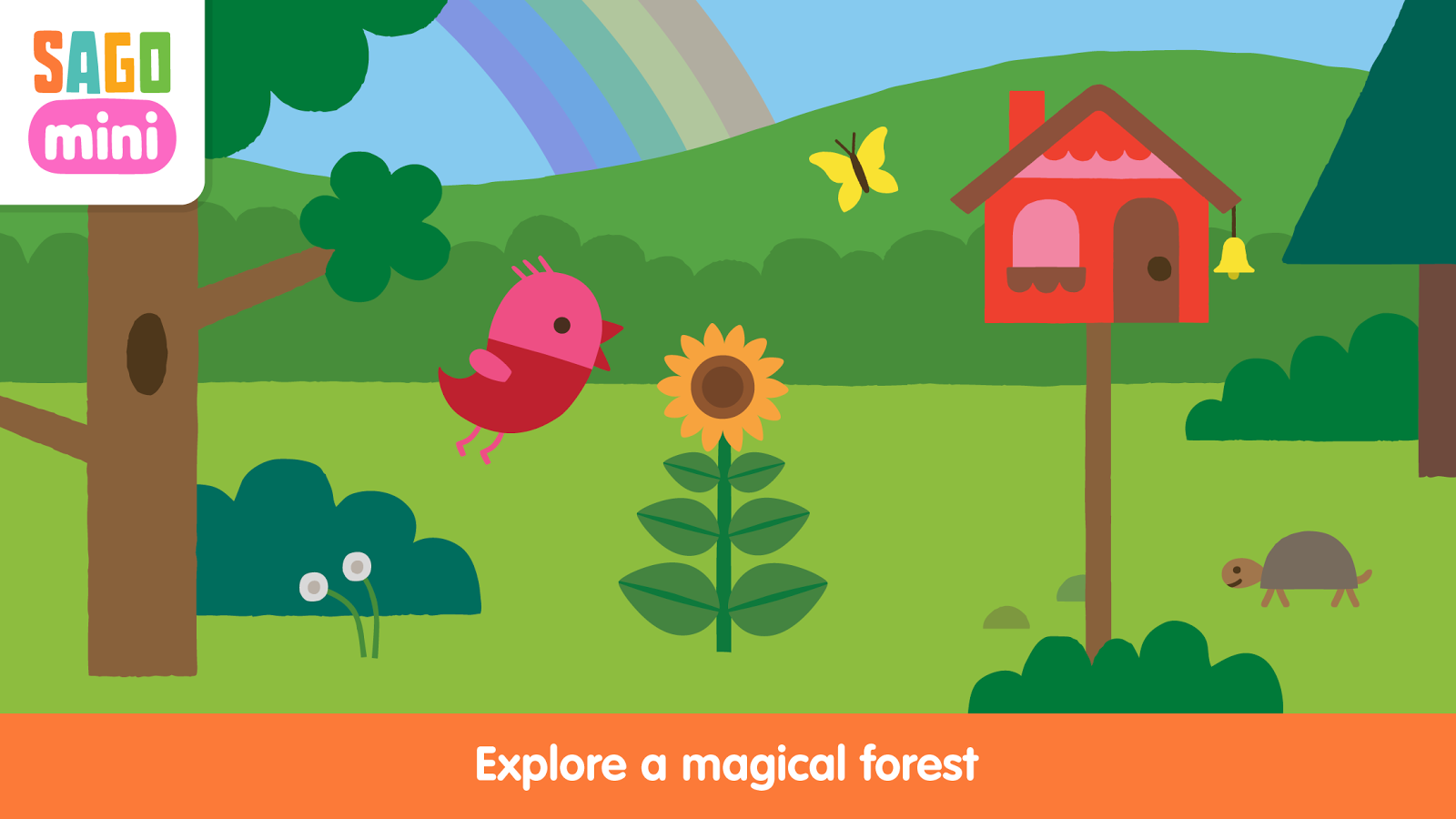 Screenshots of Sago Mini Forest Flyer for iPhone