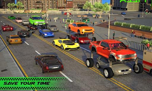 Modern Car Driving Simulator SUV Car Parking Games apktram screenshots 4