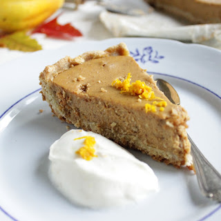 Pumpkin Pie With An Oat Crust