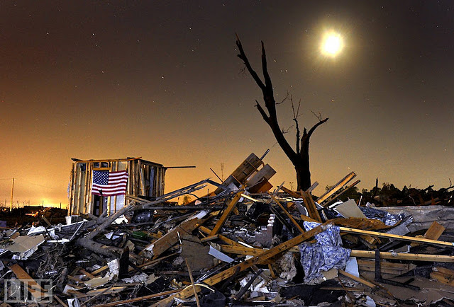 Photo: The fierce tornadoes that swept through Alabama in the last days of April killed more than 200 people in the state and destroyed hundreds of homes. In the small town of Pleasant Grove, near Birmingham, two people survived by taking shelter in the closet pictured above; the rest of their house was destroyed. Photo: The Washington Post/Contributor May 12, 2011