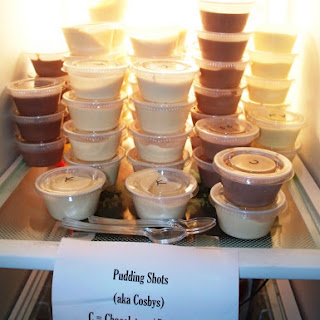 Pudding Shots.